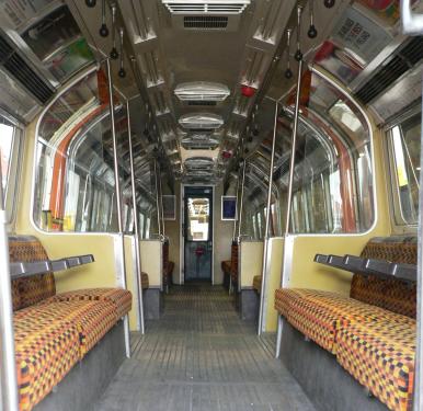 80s train interior