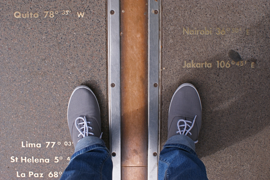 Intersecting parallels: The Greenwich Meridian Glitch