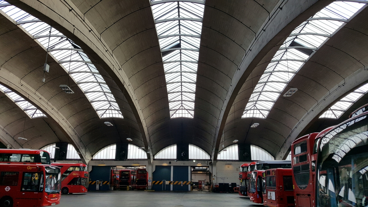 Faraway islands (part 1): The Stockwell Bus Garage Manifestation